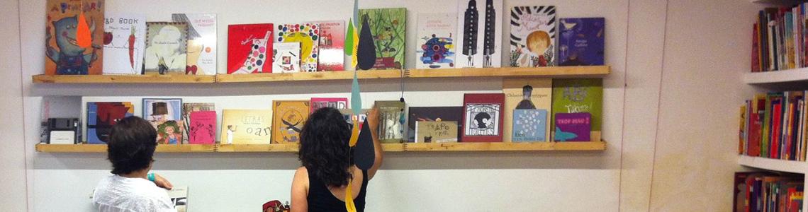 Casa Anita, un rincón del álbum ilustrado y la literatura infantil en el barrio barcelonés de Gracia