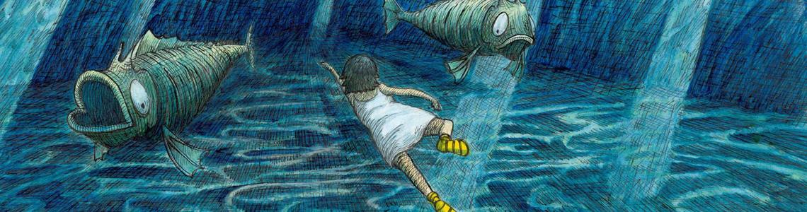 """""""El sueño de Pipa"""" de Thomas Docherty: """"Todo empezó cuando intenté dibujar un par de sueños que yo había tenido"""""""
