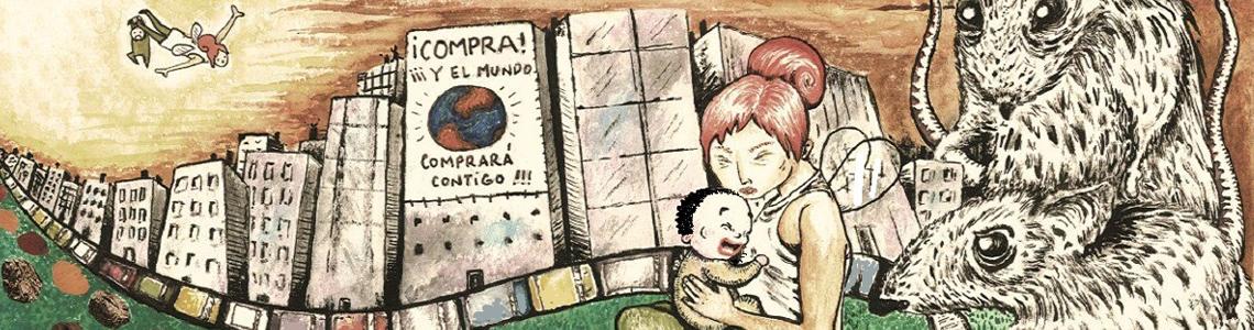 """Cristina Valero: """"Mis ilustraciones son muy raras. Un día una amiga me dijo que dibujaba la imaginación"""""""