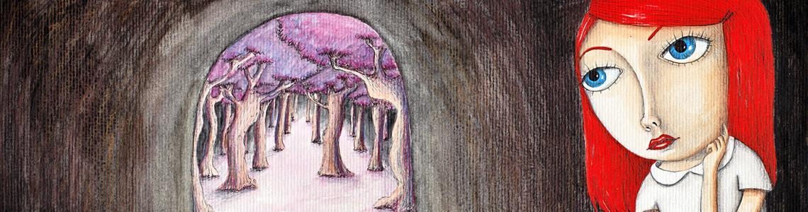 """Sonia Puga: """"Soy incapaz de hacer un dibujo a base de manchas, lo mío es más la línea, todo bien definido, y hasta el último detalle"""""""