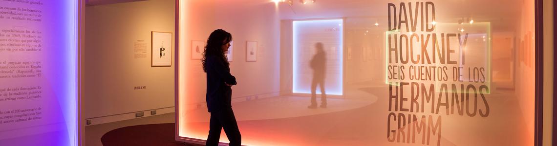 """""""David Hockney. Seis cuentos de los hermanos Grimm"""" en la Fundación Canal hasta el 14 de abril"""