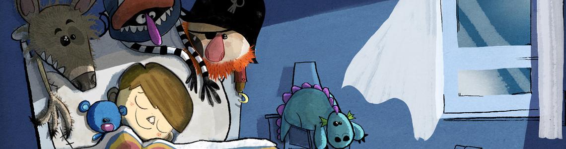 """Borja Sauras y """"Yo duermo con un oso"""": """"Son dibujos con mucho color, con formas simples, toscas y muy ingenuas"""""""