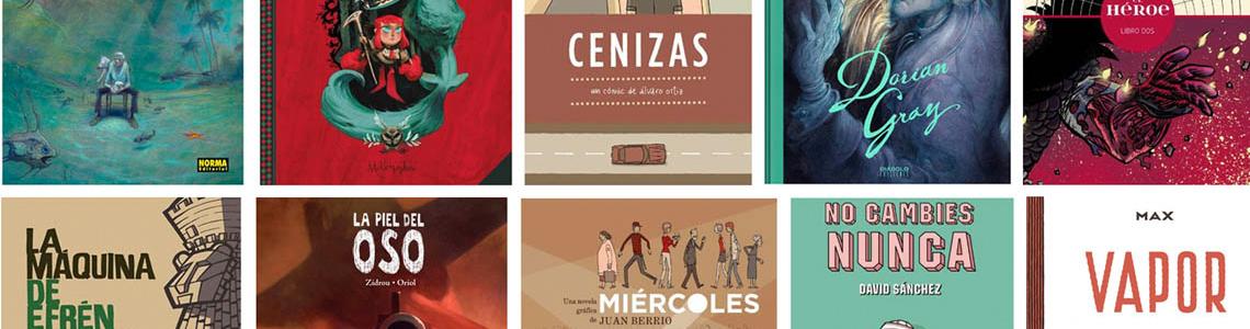 Nominaciones del 31 Salón Internacional del Cómic de Barcelona