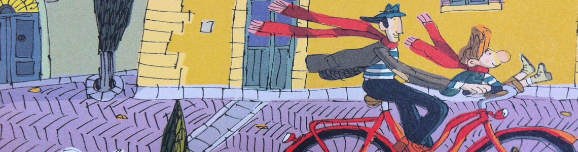"""El ilustrador David Pintor presenta en la Feria de Bolonia su última publicación, """"L'Eco"""", editado por Lapis Edizioni"""