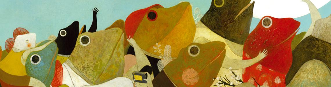 """La exposición """"Lecturas de cabecera. Ilustrarte 2012"""" nos acerca a 150 obras de los artistas más destacados de la ilustración infantil contemporánea en Casa del Lector"""