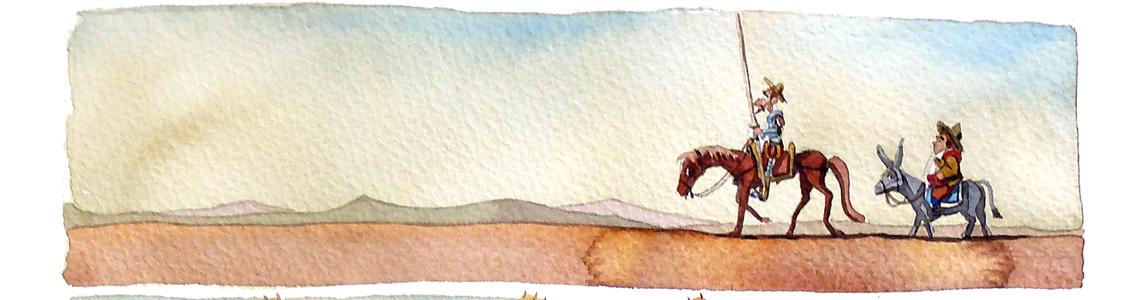 """José Luis Ocaña y su cómic sobre el Quijote: """"Se muere la frescura de un trazo que sabes que puedes corregir un millón de veces"""""""