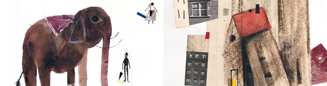 """""""Ilustres embajadores"""", Javier Zabala: """"Suelo trabajar con muchas técnicas y suelo mezclar todas ellas. Parto de una cierta tendencia al caos e intento después organizar los espacios y las armonías"""""""