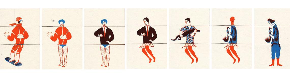 """Trece ilustradoras dan forma a """"Estereo tipas"""" que podemos visitar en la terraza de La Casa Encendida hasta el 4 de julio"""