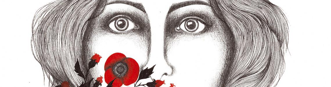 Hasta el 14 de septiembre podemos visitar la exposición de dibujos de Sara Morante en el Café La Tournée de Madrid