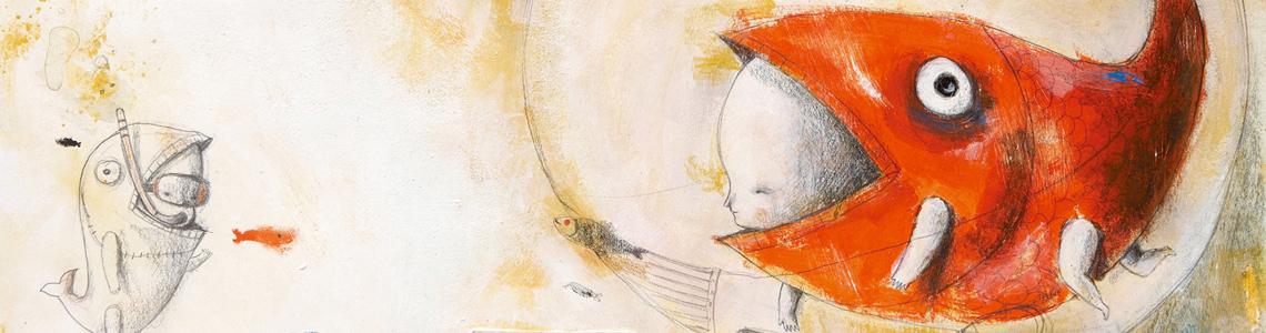 """Massimiliano di Lauro nos habla de sus ilustraciones para """"Mi primer viaje"""", una historia de Paloma Sánchez Ibarzábal"""