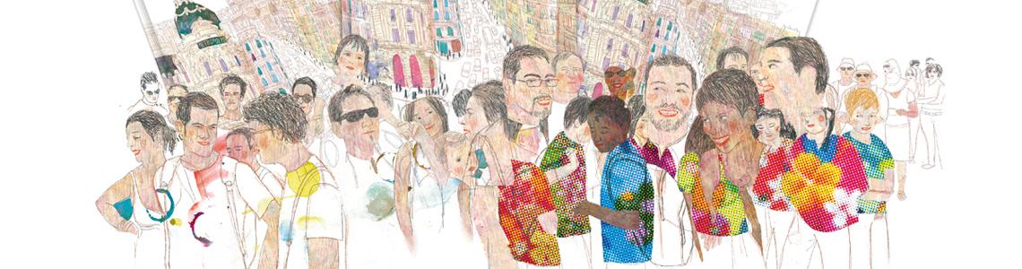 """Ángel Domingo y Jacobo Muñiz nos invitan a """"Descubrir Madrid"""": """"No busca describir ni enumerar datos, no es el espíritu del libro, sino lograr capturar atmósferas, provocar sensaciones"""""""
