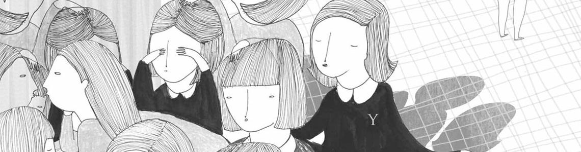 """Silvana Ávila y """"Valeria en el espejo"""": """"Hay mucho contraste, se crea un juego de blancos y negros raro en mi trabajo"""""""