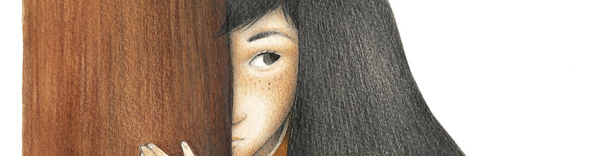 """Ester García y """"El hombre que abrazaba a los árboles"""": """"Intenté inspirarme sobre todo en el carácter y rasgos psicológicos de los personajes de Marcial y Felicidad a la hora de ilustrarlos"""""""