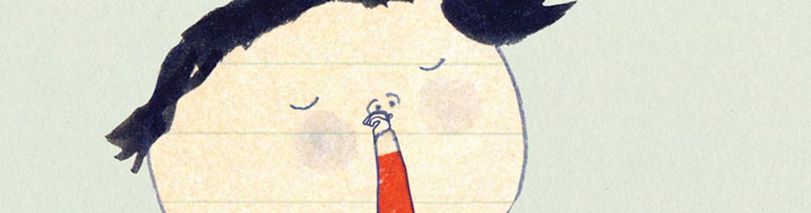 """Fixionaria 3, Yael Frankel: """"Con técnicas mixtas me siento muy cómoda. Collage, más lápiz negro, más acuarela, más digital"""""""