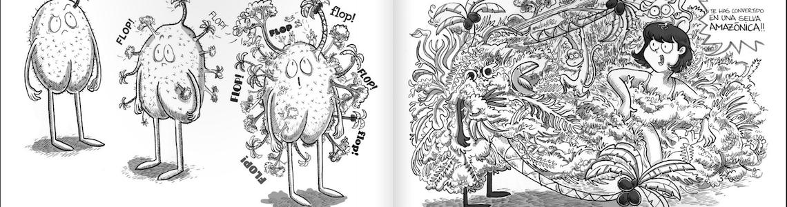 Ana Belén Rivero, dibujos como la vida misma. La dibujante granadina participa en el Festival de Cómic de Mujeres de Granada
