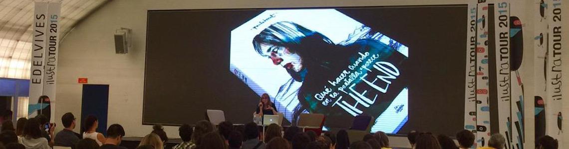 """Un domingo de IlustraTour: boom o no de la ilustración, el manifiesto """"está pasando"""" de Aitor Saraiba y el cierre con Paula Bonet, pasando por otras historias ilustradas o no"""
