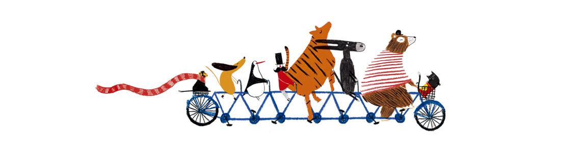 """Ximo Abadía y 'Cómo abrió don Nicanor el Gran Circo Volador': """"Sobretodo buscaba ilustraciones más icónicas. En cada proyecto me gusta probar técnicas diferentes, en este libro jugué más con la composición de la página, las tramas y el color"""""""