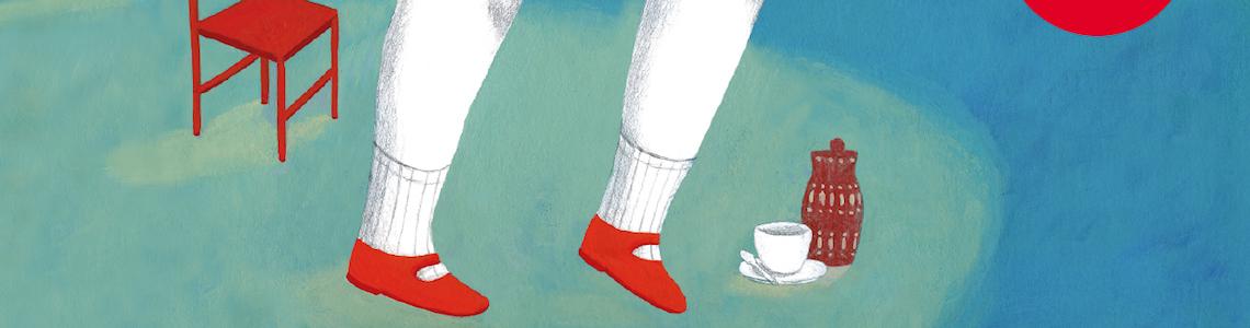"""Iratxe López de Munáin y 'La mujer más alta del mundo': """"Siempre me ha gustado jugar con el color para contar cosas. También juego con el formato mismo del libro; el paso de página y la verticalidad"""""""