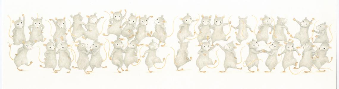 """Lisa D'Andrea y 'El ratón que faltaba': """"He dibujado con exactitud el número de ratones mencionados. Sólo en el libro hay 337 ratones"""""""