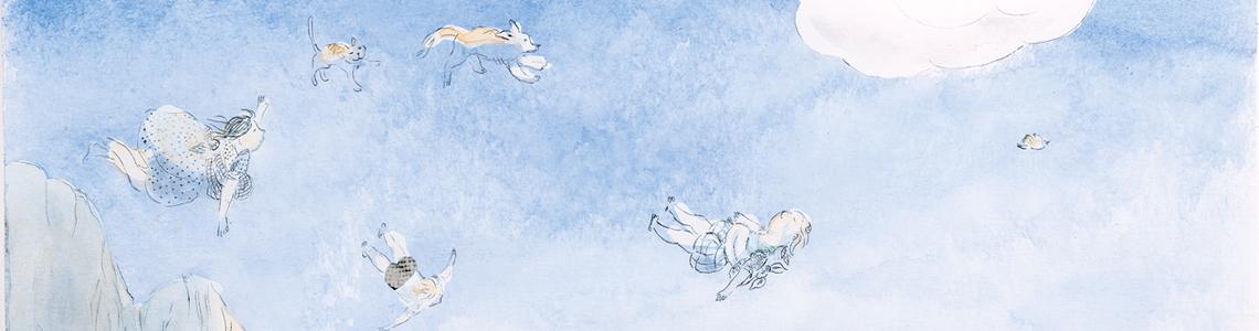Anna Castagnoli y 'El vuelo de la familia Knitter': «Había algo de heroico y también un poco melancólico en este vuelo sin parada, algo como una metáfora escondida sobre la vida: hay que tener el coraje de quitar lo que conocemos, y seguir andando»