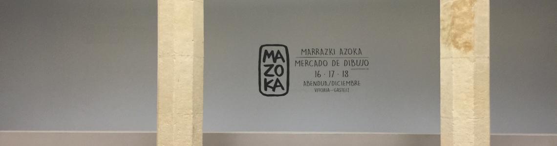 El proceso de trabajo de Elena Odriozola y lo que piensa Gustavo Puerta de 'lo que no se está ilustrando', en las jornadas profesionales previas a la segunda edición del Mazoka