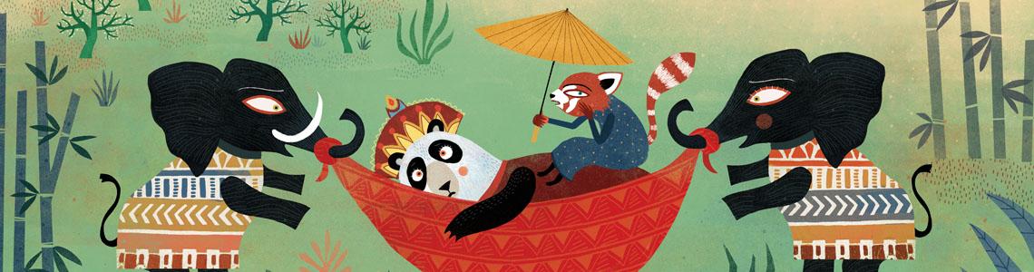 """Mariana Ruiz Johnson y 'Dormir a la Reina Panda': """"Traté de recrear un clima oriental para los escenarios y los vestuarios, y a la vez trabajar cuestiones étnicas particulares para cada uno de los animales que intentan ayudar a la Reina Panda"""""""