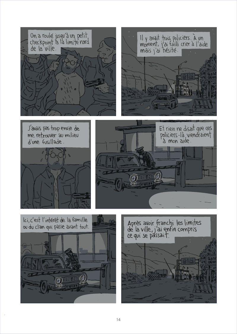 Guy Delisle Escapar