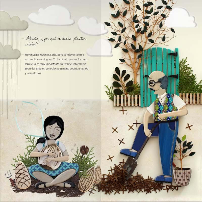 Nadia Menotti Planta un árbol