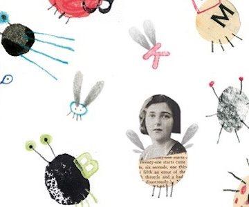Bichopoemas: ilustraciones que son juegos poéticos