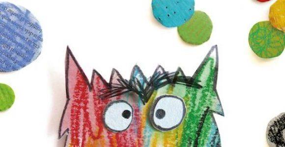 'El Monstruo de colores' en formato Kamishibai
