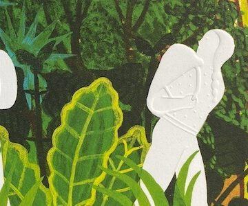 Vidali y Lópiz, jardineros de El bosque