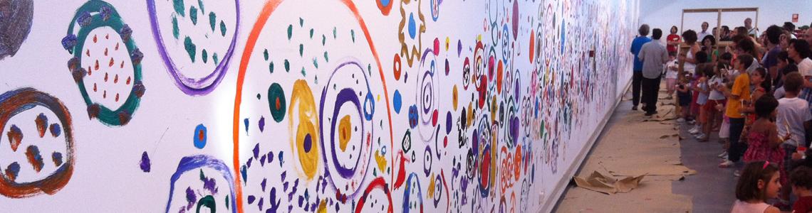 Hervé Tullet nos invita a una gran experiencia creativa colectiva