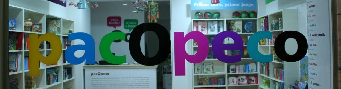 Librería pacopeco, un rincón para las familias en Algeciras