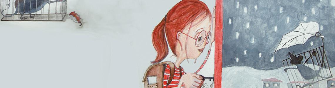 """Carmen Tischler: """"Trabajo con técnica mixta, donde predominan acrílicos, óleos o acuarelas, acompañadas de lápiz , rotulador…."""""""