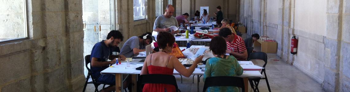 Desgranando IlustraTour 2013: Los talleres
