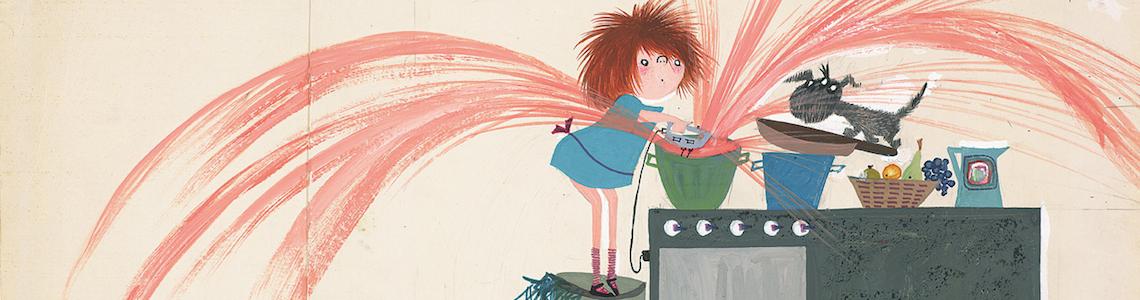 """La editorial """"Lata de Sal"""" nos presenta en su colección Vintage a """"Lucía Manchitas"""", un personaje de Annie MG Schmidt que ilustró Fiep Westendorp"""