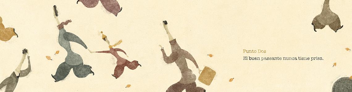 """Raimon Juventeny y su """"Manual del Buen Paseante"""": """"Eso intento. Ser un buen paseante es a lo que yo aspiro en la vida"""""""