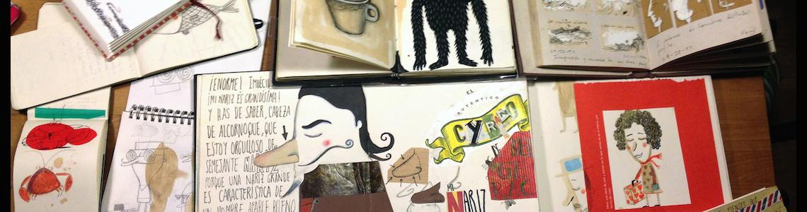 """Los cuadernos de… Raúl Nieto Guridi: """"El cuaderno es como la extensión de mi cabeza, es parte de mi"""""""