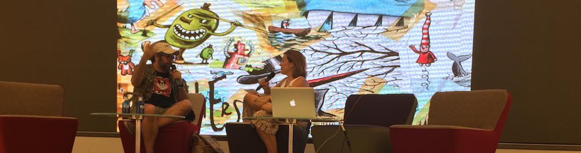 Del humor de Liniers al compromiso social del dibujo, pero con Orgullo y Satisfacción en IlustraTour 2015