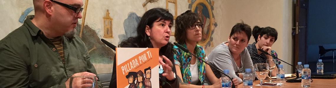 """""""Lápices contra el sexismo"""" e """"Ilustración y cambio social"""", dos títulos para dos charlas en las que escuchamos cómo el dibujo nos acerca a la realidad de las personas"""