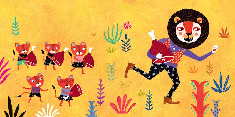 Mariana Ruiz Johnson album ilustrado Por el camino