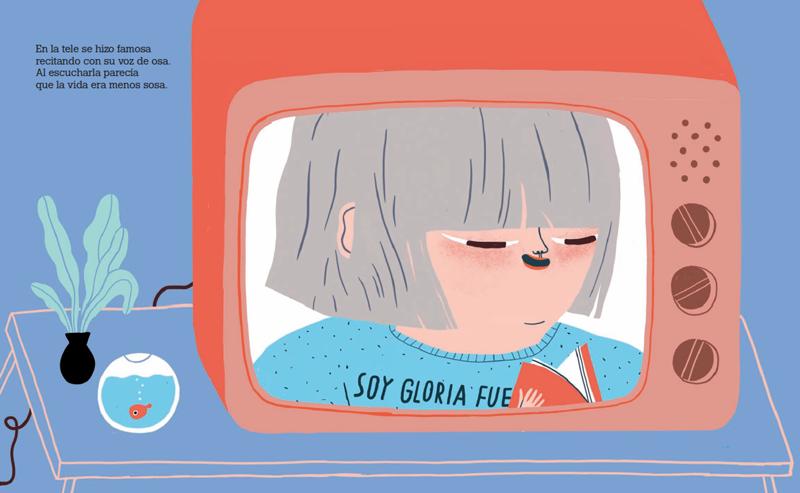 Cinta Arribas Gloria Fuertes