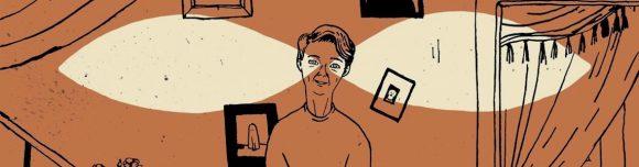 Carmen Segovia ilustra 'El hombre bajo el farol'