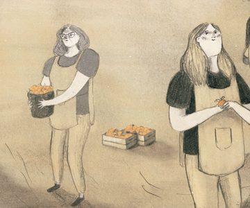 Alba Flores y la 'Temporada de melocotones'